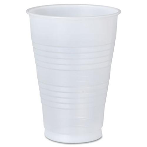 Dart Conex Galaxy Polystyrene Plastic Cold Cups  16oz  500 Carton (SCCY16PFTPKCT)