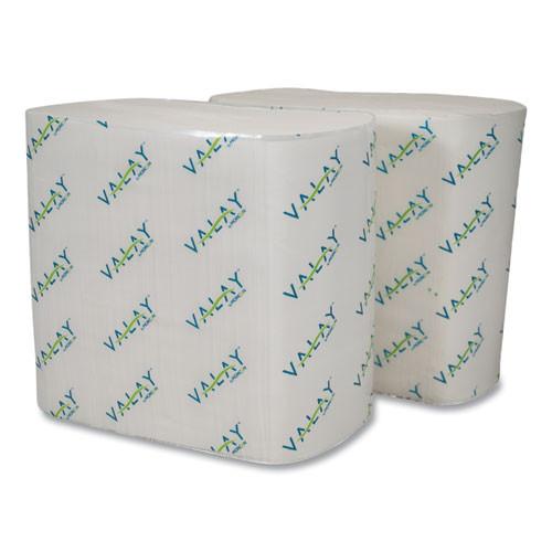 Morcon Tissue Valay Interfolded Napkins  2-Ply  6 5 x 8 25  White  500 Pack  12 Packs Carton (MOR4500VN)