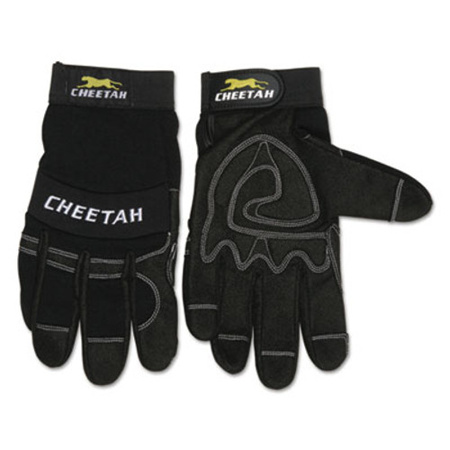 Memphis Cheetah 935CH Gloves, X-Large, Black (CRW935CHXL)
