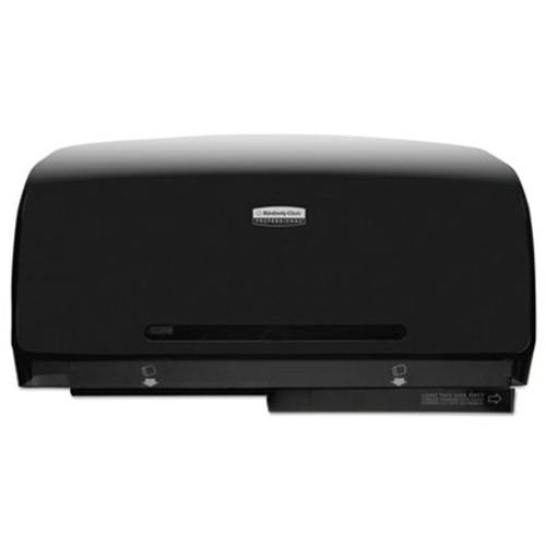 Scott Pro Coreless Twin Jumbo Roll Tissue Dispenser  23 1 2 x 6 3 4 x 11 7 8  Black (KCC39731)