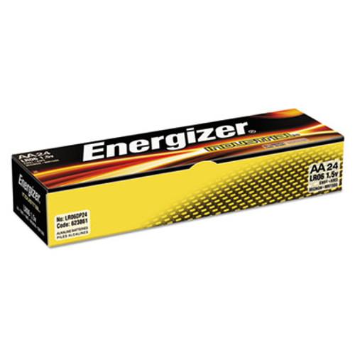 Energizer Industrial Alkaline AA Batteries  1 5V  24 Box (EVEEN91)