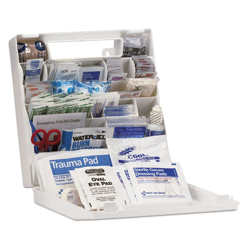First Aid Only ANSI Class A  First Aid Kit for 50 People  183 Pieces (FAO90639)