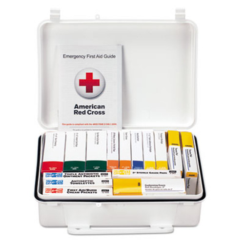 First Aid Only Unitized ANSI Class A Weatherproof First Aid Kit for 25 People  16 Units (FAO90569)