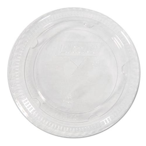 Dixie Cold Drink Cup Lids for 16-24 oz Plastic Cold Cups, Clear,100/Pk, 10Pk/Ctn (DXECL1624)
