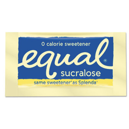 Equal Zero Calorie Sweetener, 0.035 oz Packet, 500/Box (EQL90084)