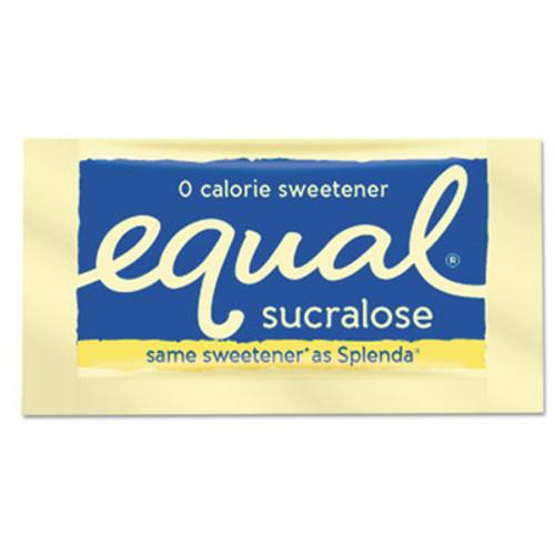 Equal Zero Calorie Sweetener  0 035 oz Packet  500 Box (EQL90084)