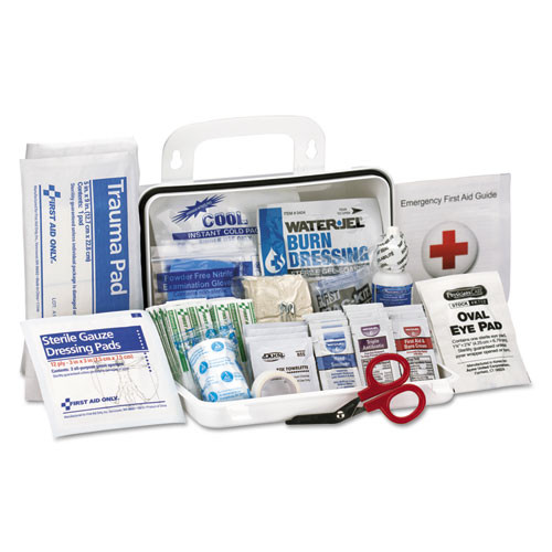 First Aid Only ANSI Class A 10 Person First Aid Kit  71 Pieces (FAO90754)