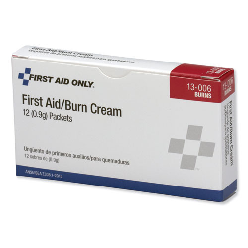 PhysiciansCare by First Aid Only First Aid Kit Refill Burn Cream Packets  12 Box (FAO13006)