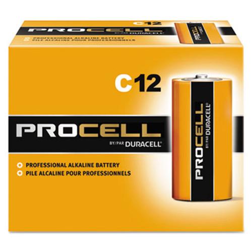 Duracell Procell Alkaline C Batteries  12 Box (DURPC1400)