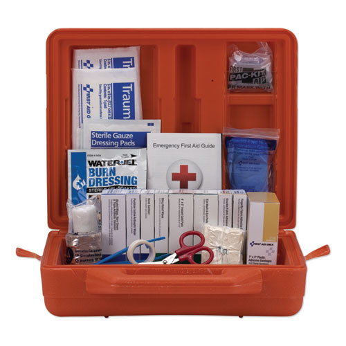 First Aid Only ANSI Class A  First Aid Kit for 50 People  Weatherproof  215 Pieces (FAO90699)