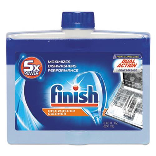 FINISH Dishwasher Cleaner, Fresh, 8.45 oz Bottle, 6/Carton (RAC95315)