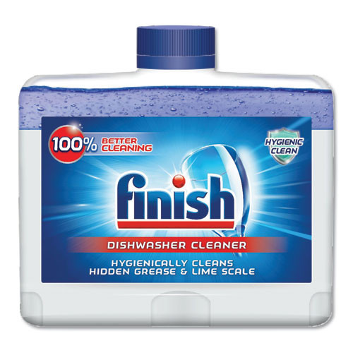 FINISH Dishwasher Cleaner  Fresh  8 45 oz Bottle  6 Carton (RAC95315)