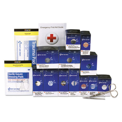 First Aid Only Medium Metal SmartCompliance Refill Pack for 25 People  94 Pieces (FAO90582)