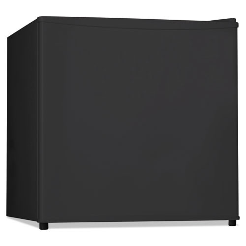 Alera 1 6 Cu  Ft  Refrigerator with Chiller Compartment  Black (ALERF616B)