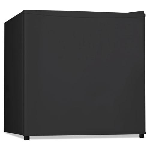 Alera 1 6 Cu  Ft  Refrigerator with Chiller Compartment  Black (ALERF616B)
