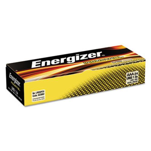 Energizer Industrial Alkaline AAA Batteries  1 5V  24 Box (EVEEN92)