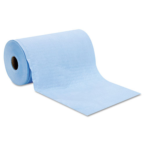 HOSPECO Prism Scrim Reinforced Wipers  4-Ply  9 3 4 x 275ft Roll  Blue  6 Rolls Carton (HOSC2375BH)