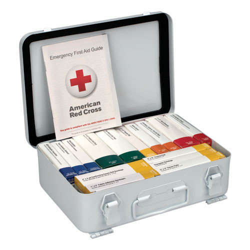 First Aid Only Unitized ANSI Compliant Class A Type III First Aid Kit for 25 People  16 Units (FAO90568)