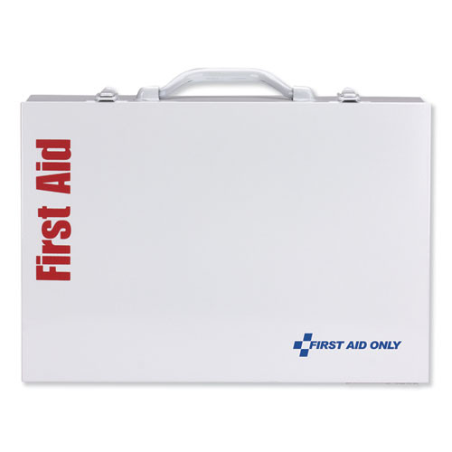 First Aid Only ANSI 2015 Class B  Type I   II Industrial First Aid Kit 75 People  446 Pieces (FAO90573)