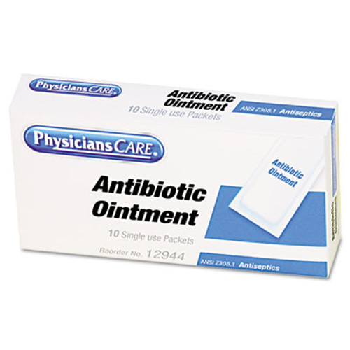 PhysiciansCare by First Aid Only First Aid Kit Refill Triple Antibiotic Ointment  12 Box (FAO12001)