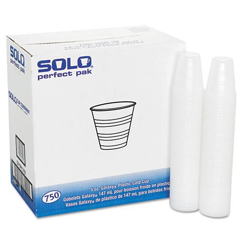 Dart Conex Galaxy Polystyrene Plastic Cold Cups  5oz  750 Carton (DCCY5PFTPK)