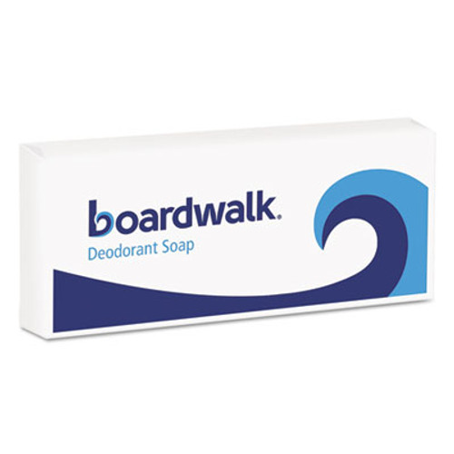 Boardwalk Face and Body Soap, Flow Wrapped, Floral Fragrance, 1.5oz Bar, 500/Carton (BWKNO15SOAP)