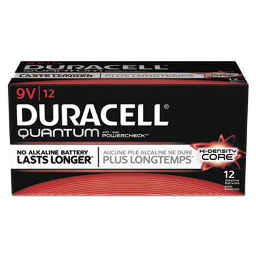Duracell Quantum Alkaline 9V Batteries  72 Carton (DURQU1604)