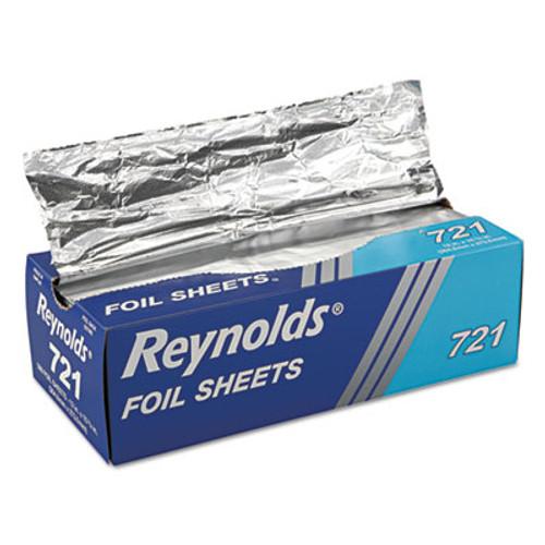 Reynolds Wrap Pop-Up Interfolded Aluminum Foil Sheets  12 x 10 3 4  Silver  500 Box (RFP721BX)