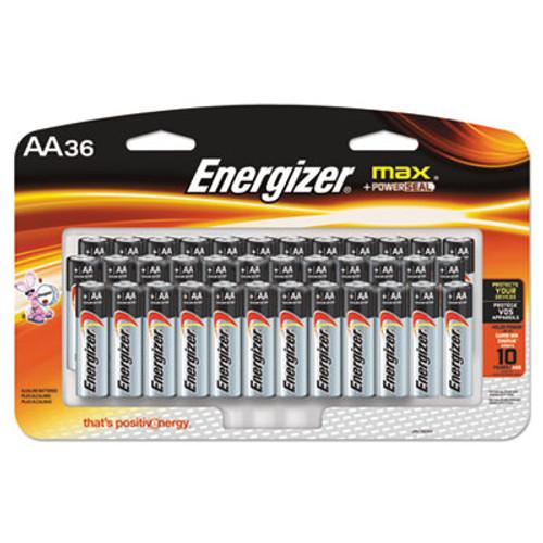 Energizer MAX Alkaline Batteries AA 36 Batteries Pack EVEE91SBP36H