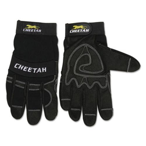 MCR Safety Cheetah 935CH Gloves  Small  Black (CRW935CHS)