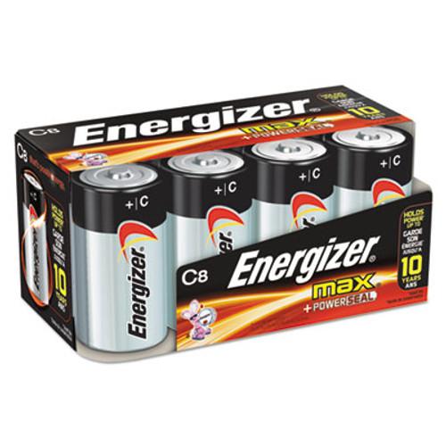 Energizer MAX Alkaline C Batteries  1 5V  8 Pack (EVEE93FP8)