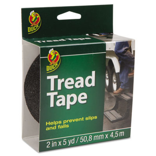 Duck Tread Tape  2  x 5 yds  3  Core  Black (DUC1027475)