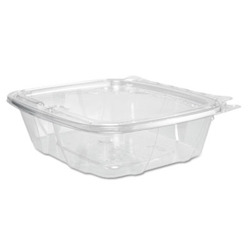 Dart ClearPac Container Lid Combo-Packs, 6.4 x 1.9 x 7.1, 24 oz, Clear, 200/Carton (DCCCH24DEF)
