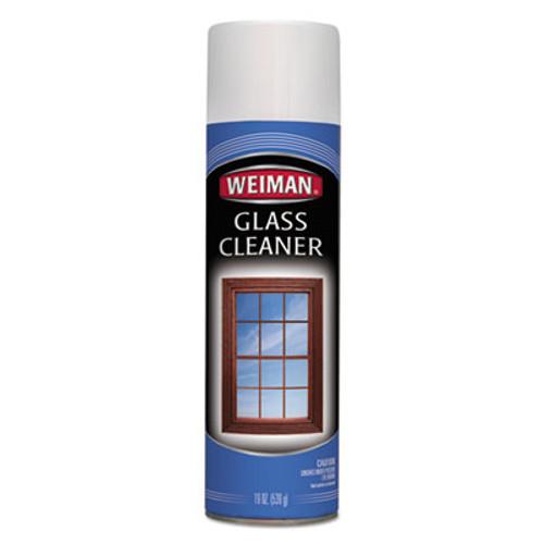 WEIMAN Foaming Glass Cleaner  19 oz Aerosol Can  6 Carton (WMN10CT)