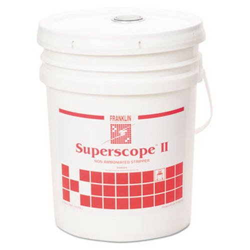 Franklin Cleaning Technology Superscope II Non-Ammoniated Floor Stripper  Liquid  5 gal  Pail (FKLF209026)