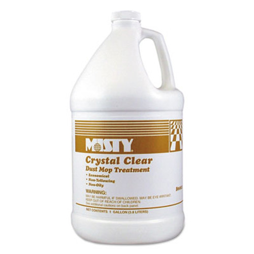 Misty Crystal Clear Dust Mop Treatment, Slightly Fruity Scent, 1 gal Bottle (AMR1003411EA)