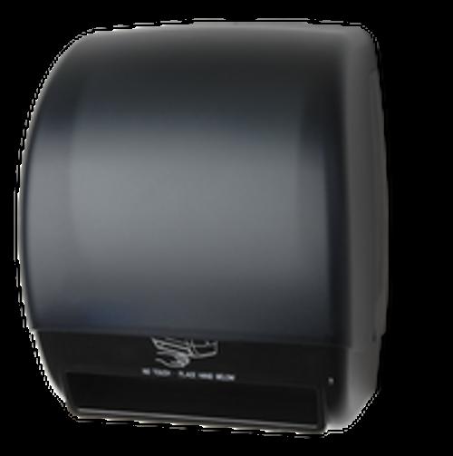 Palmer Fixture Electra Touchless Paper Towel Dispenser - Black Translucent (PAL245BK)