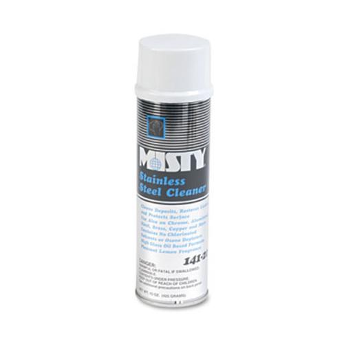 Misty Stainless Steel Cleaner   Polish  Lemon Scent  15oz Aerosol  12 Carton (AMR1001541)