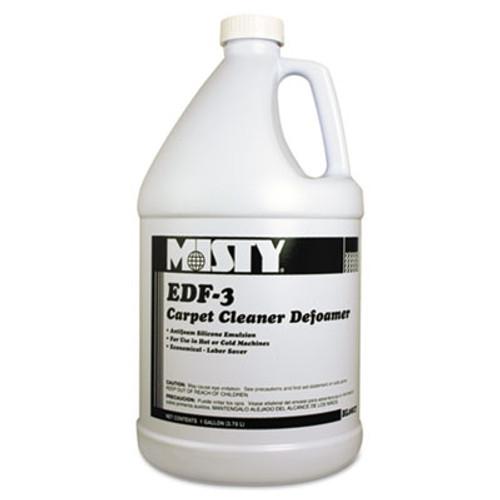 Misty EDF-3 Carpet Cleaner Defoamer  1 gal  Bottle  4 Carton (AMR1038773)