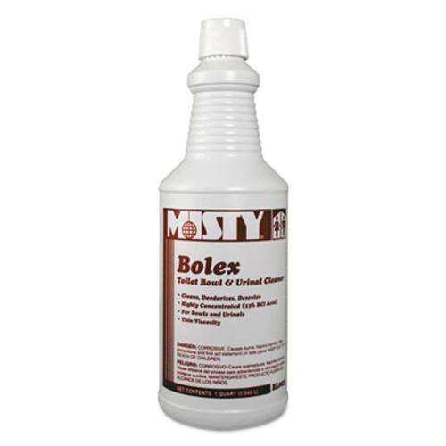 Misty Bolex 23 Percent Hydrochloric Acid Bowl Cleaner  Wintergreen  32oz  12 Carton (AMR1038799)