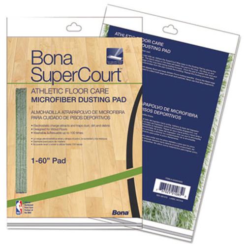 Bona SuperCourt Athletic Floor Care Microfiber Dusting Pad  60   Green (BNAAX0003500)
