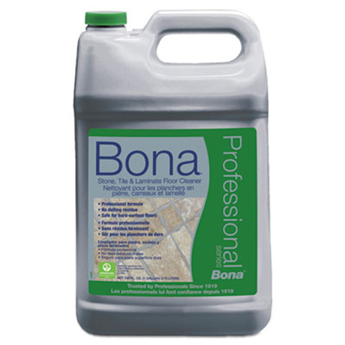 Bona Stone, Tile & Laminate Floor Cleaner, Fresh Scent, 1 gal Refill Bottle (BNAWM700018175)