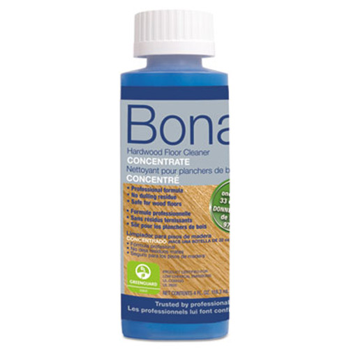Bona Pro Series Hardwood Floor Cleaner Concentrate, 4 oz Bottle (BNAWM700049040)