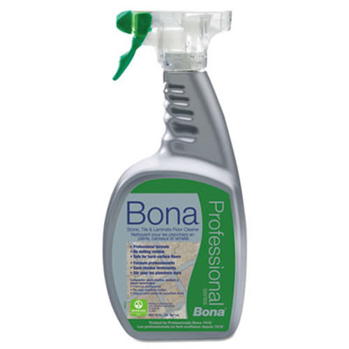 Bona Stone, Tile & Laminate Floor Cleaner, Fresh Scent, 32 oz Spray Bottle (BNAWM700051188)