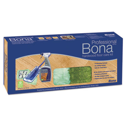 Bona Hardwood Floor Care Kit  15  Head  52  Handle  Blue (BNAWM710013398)