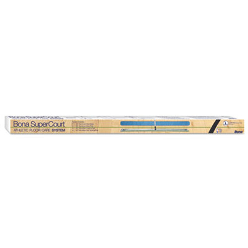 Bona SuperCourt Athletic Floor Care System  60 Microfiber Head  66 Handle  Alum Blue (BNAWM710013471)