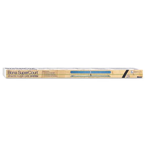 Bona SuperCourt Athletic Floor Care System  60 Microfiber Head  66 Handle  Alum Blue (BNAWM710013471)