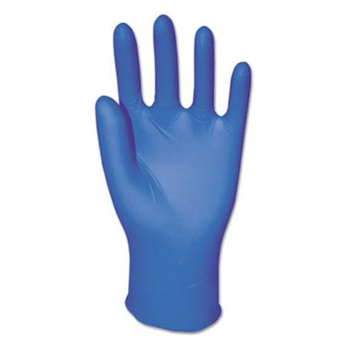 Boardwalk Disposable Examination Nitrile Gloves, Large, Blue, 5 mil, 1000/Carton (BWK382LCT)