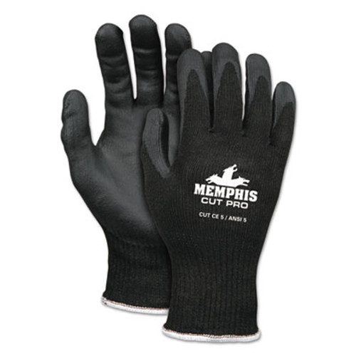 MCR Safety Cut Pro 92720NF Gloves  X-Large  Black  HPPE Nitrile Foam (CRW92720NFXL)