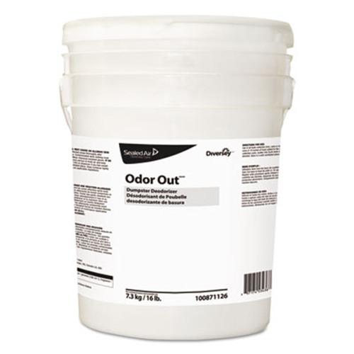 Diversey Odor Out Odor Counteractant Pellets  Fresh Floral  Pink  16 lb Pail (DVO100871126)